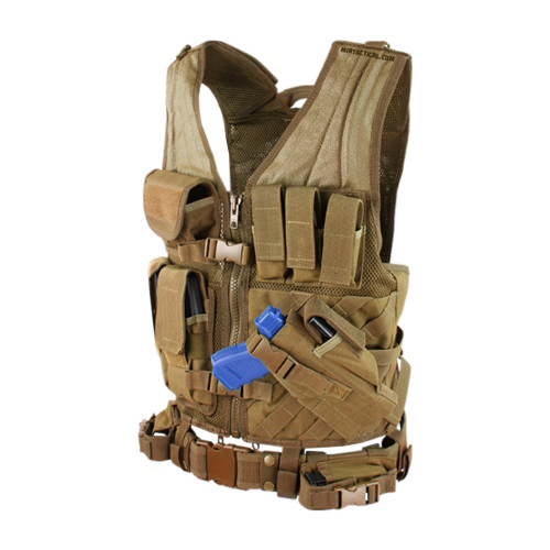 CROSS DRAW VEST COYOTE