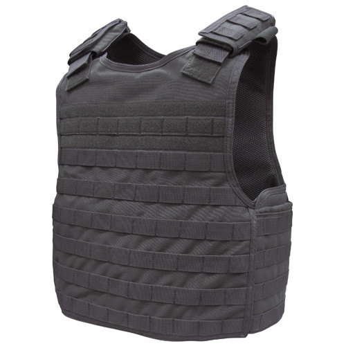 DEFENDER PLATE CARRIER BLACK
