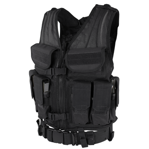 ELITE TACTICAL VEST BLACK