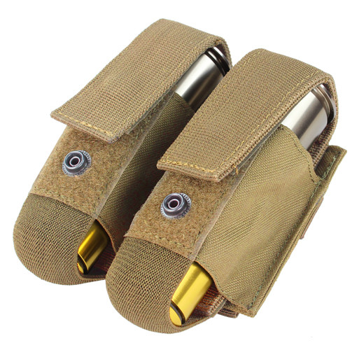 DOUBLE 40MM GRENADE POUCH TAN