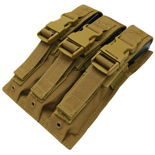 TRIPLE MP5 MAG POUCH COYOTE
