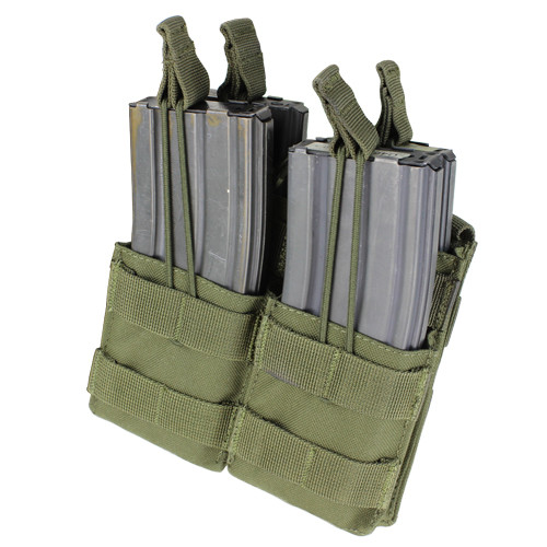 DOUBLE STACKER M4 MAG POUCH OD