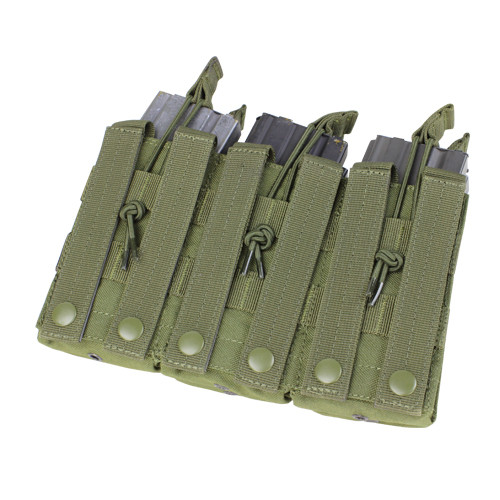 TRIPLE STACKER M4 MAG POUCH OD