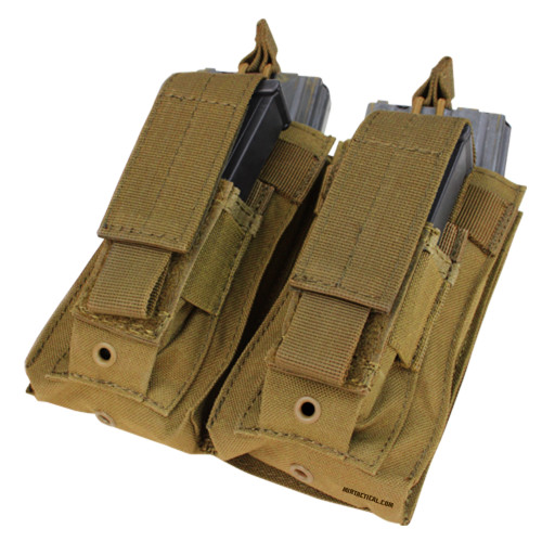 DOUBLE KANGAROO MAG POUCH COYOTE