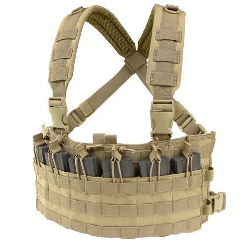 RAPID ASSAULT CHEST RIG TAN