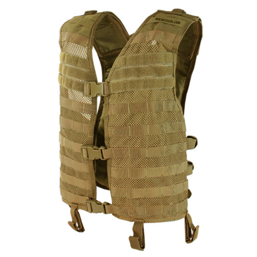 MESH HYDRATION VEST COYOTE BROWN