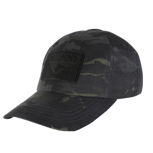 TACTICAL CAP MULTICAM BLACK