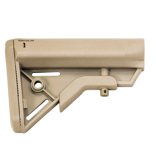 AIRSOFT CQB STOCK TAN