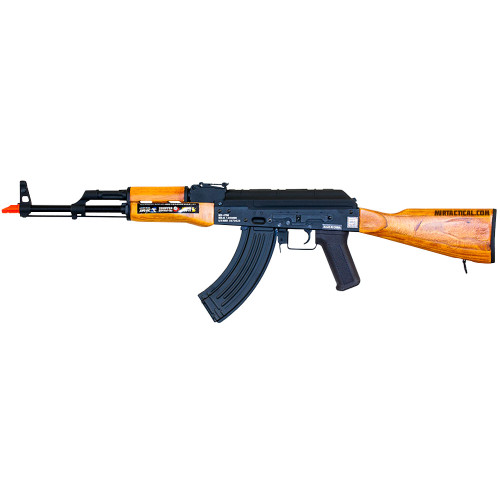 AIRSOFT METAL RED STAR AKM WOOD AEG