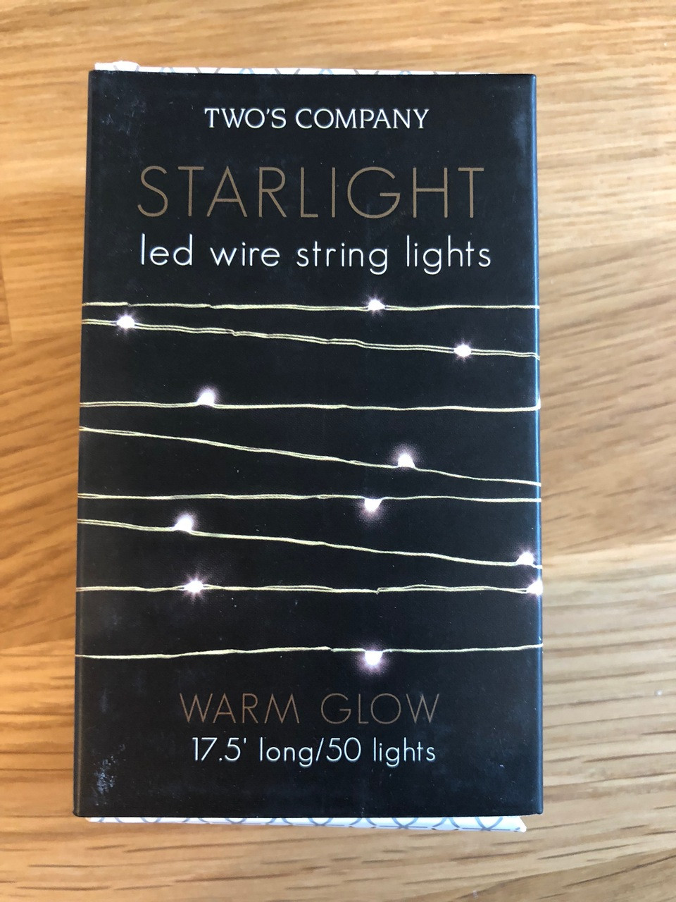 starlight led battery operated gold wire string lights with warm