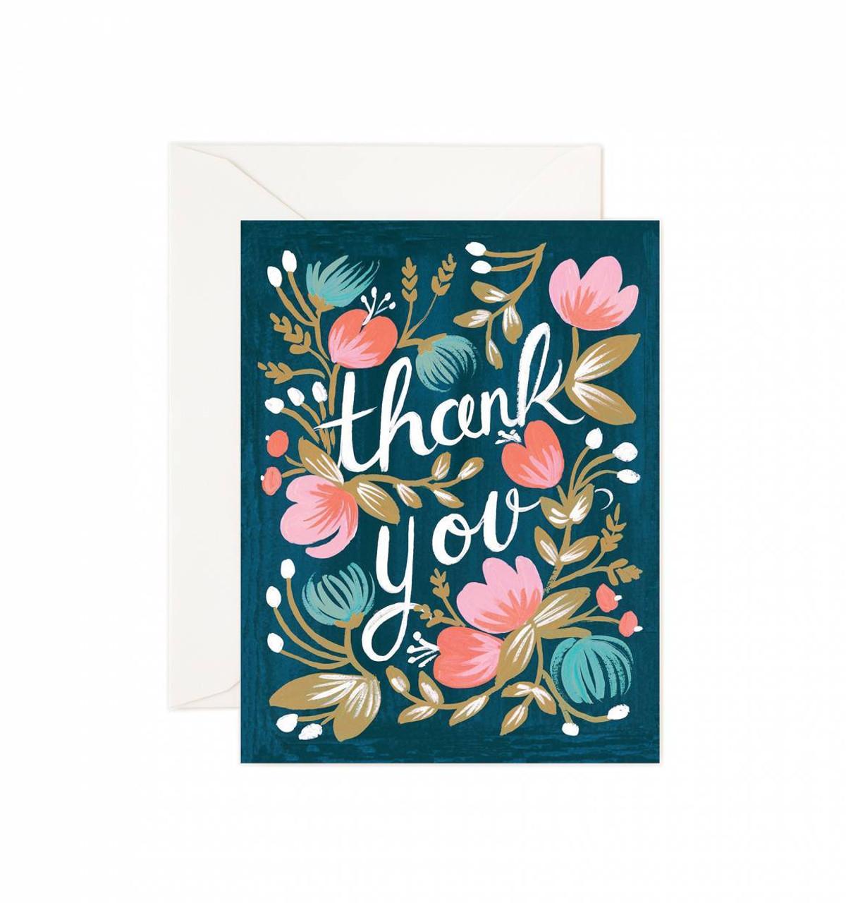 thank you card the beach plum company