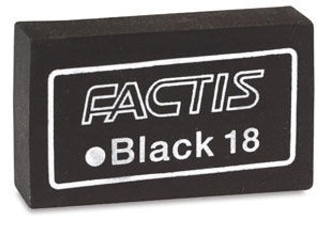 PT - Erasers, Factus Black