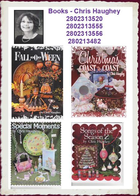 Books - Chris Haughey  (2802313520, 2802313555, 2802313556, 280213482)