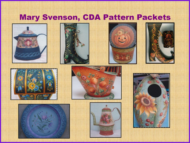 Pattern Packets - Mary Svenson, CDA