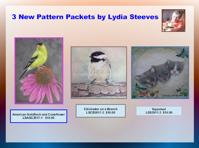 Pattern Packets - Lydia Steeves