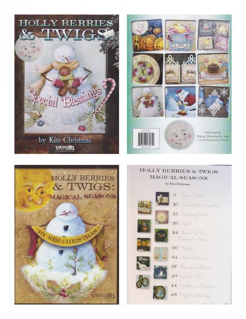 Books - Kim Christmas (28012313561,  280231444)