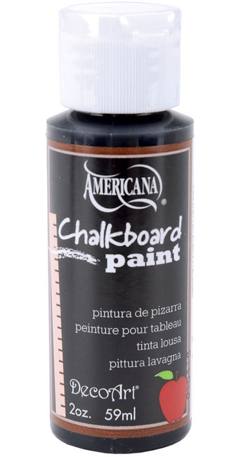 DecoArt Black Slate Chalkboard Paint