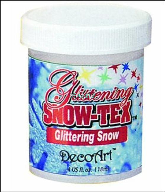 DecoArt Glistening Snow-Tex