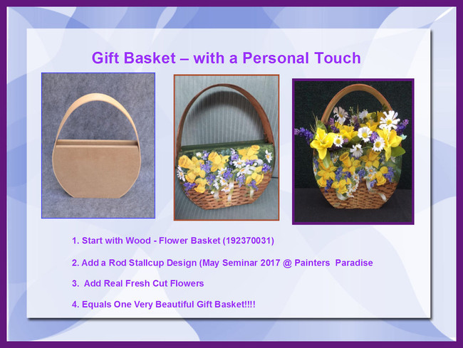 "Wood - Flower Basket or Christmas Card Holder ~13.5"" x 11.25"" x 2"" (192370031)"