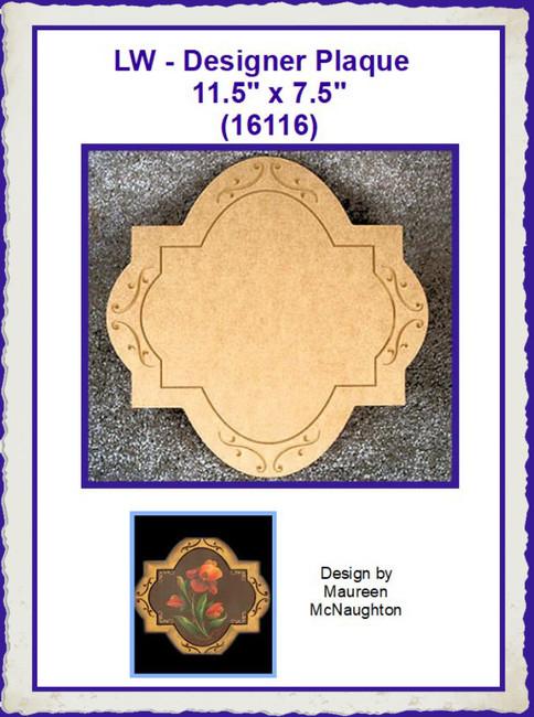 """LW - Cross Plaque 11.5"""" 11.5"""" (16116)"""