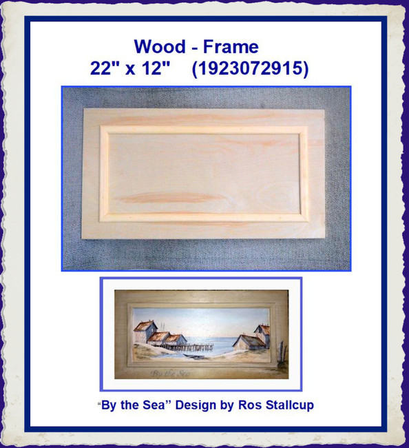 "Wood - Frame  22""  x 12"" (1923072915)"