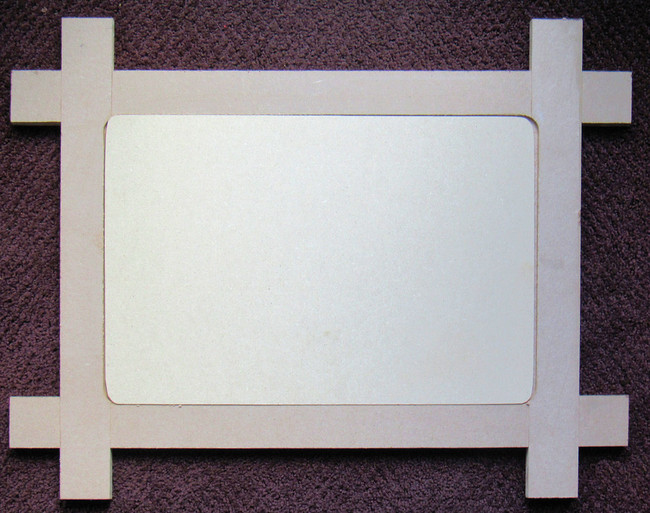 "The Frame is 25"" x 20"" x 0.5"" The Insert is 16"" x 12"""