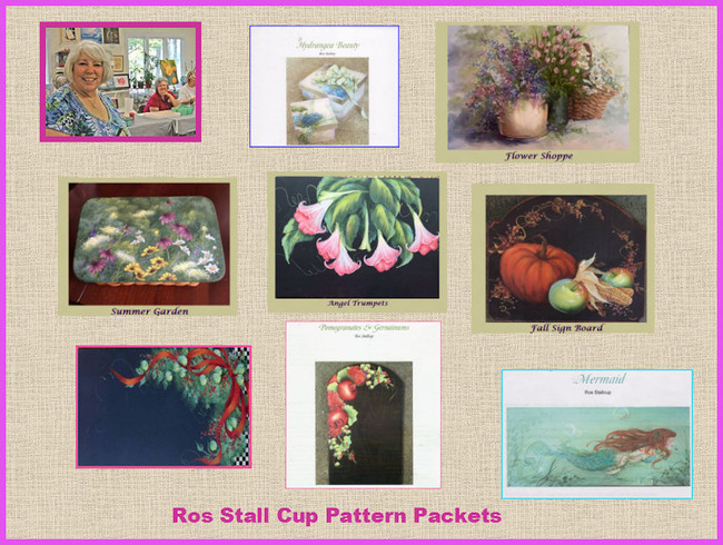 Ros Stallcup - New Pattern Packets