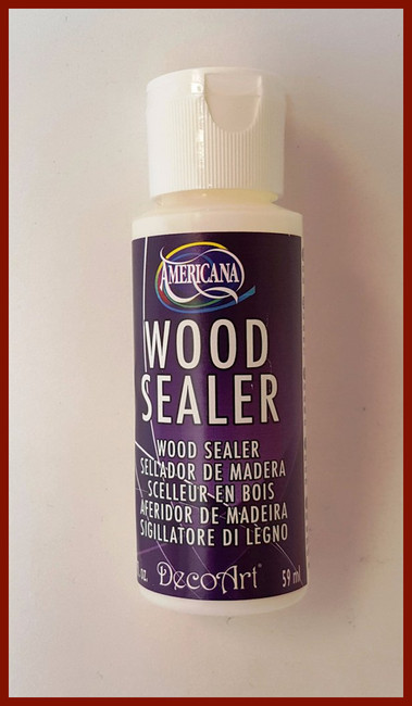 PAINT - DecoArt American wood Sealer 2oz. (DS16)
