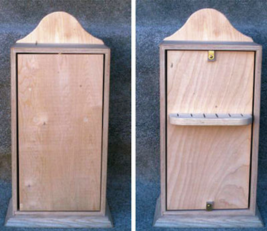 Wood - Box, Knife