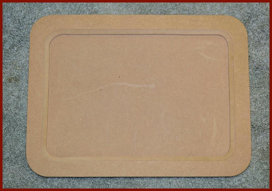 "Wood - Tray or Frame,  Large Rectangular  23"" x 17"" x 2"" (19234004)"