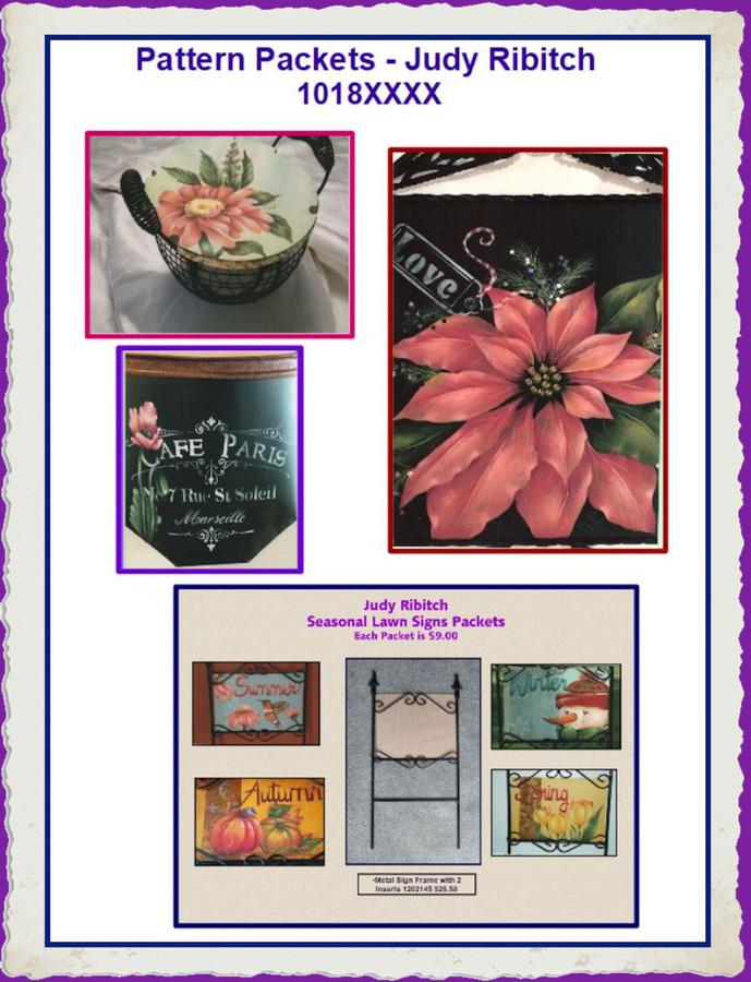 Pattern Packets - Judy Ribitch 1018XXXX