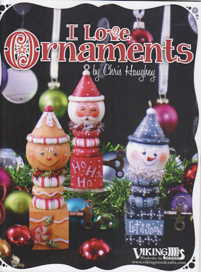 Book - I Love Ornaments by Chris Haughey (2802320004)