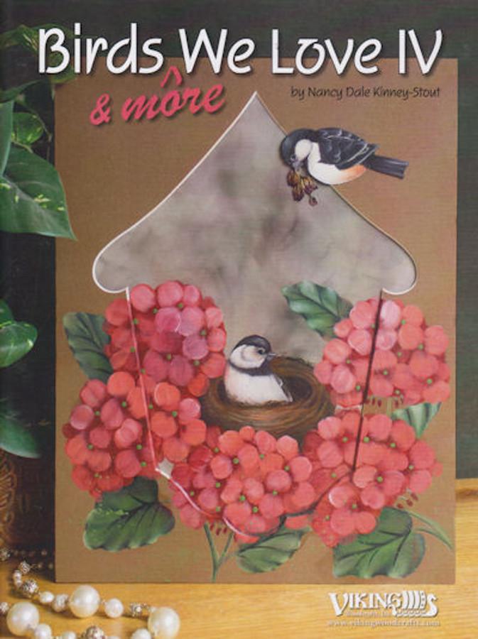 Book -  Birds We Love IV by Nancy Dale Kinney-Stout (2802320003)