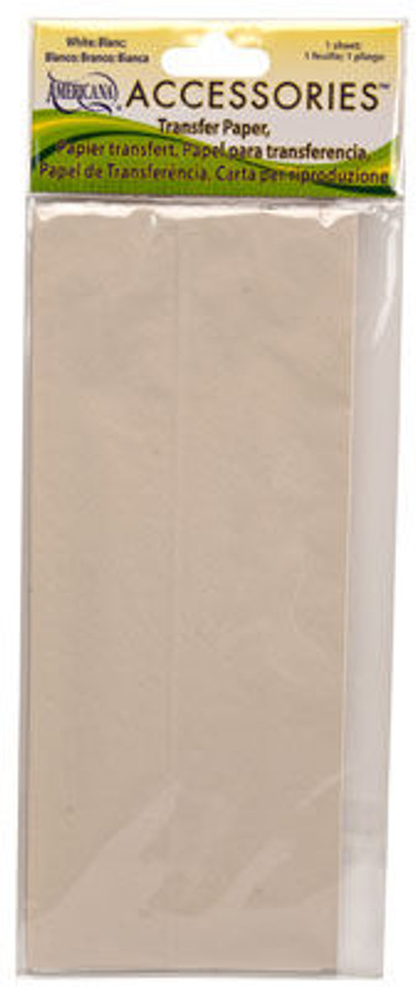 White( DAS198) or Black (DAS197) Transfer Paper