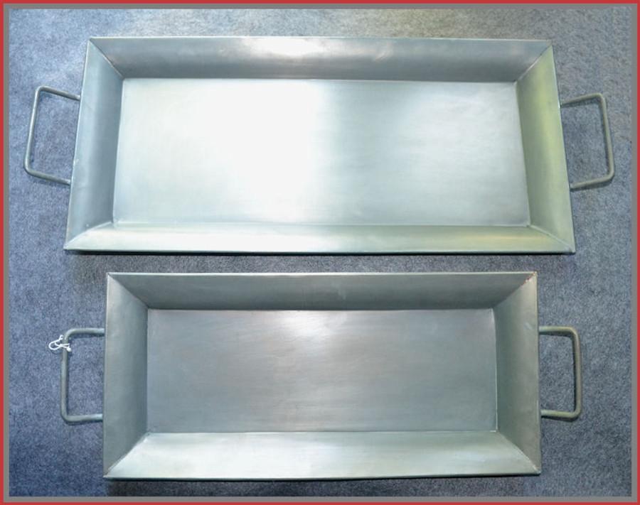 Metal - Long Tray Set of 2 (10534AB)