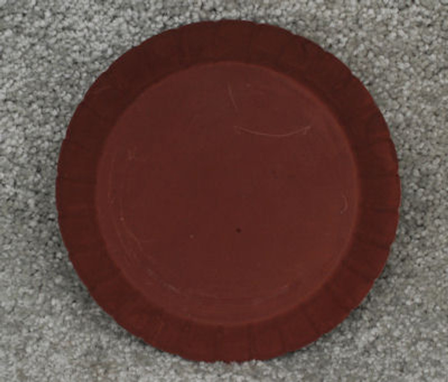 "Plate - Pan, 6"" scalloped"