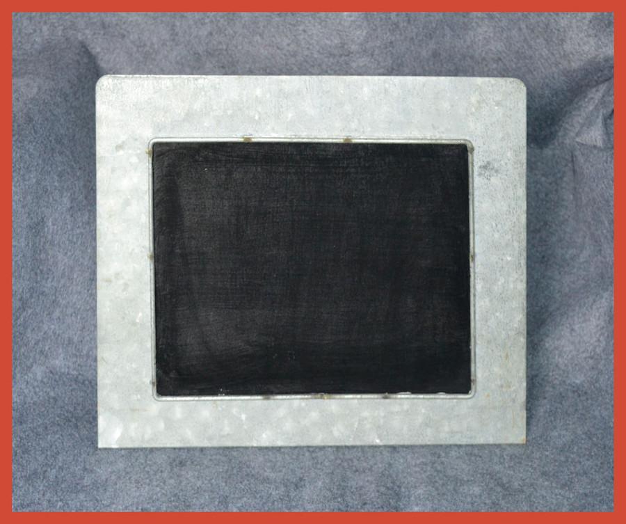 "Metal - Tin Frame Stand  12.5"" x10.5"" x 3.5"" (15T200)"