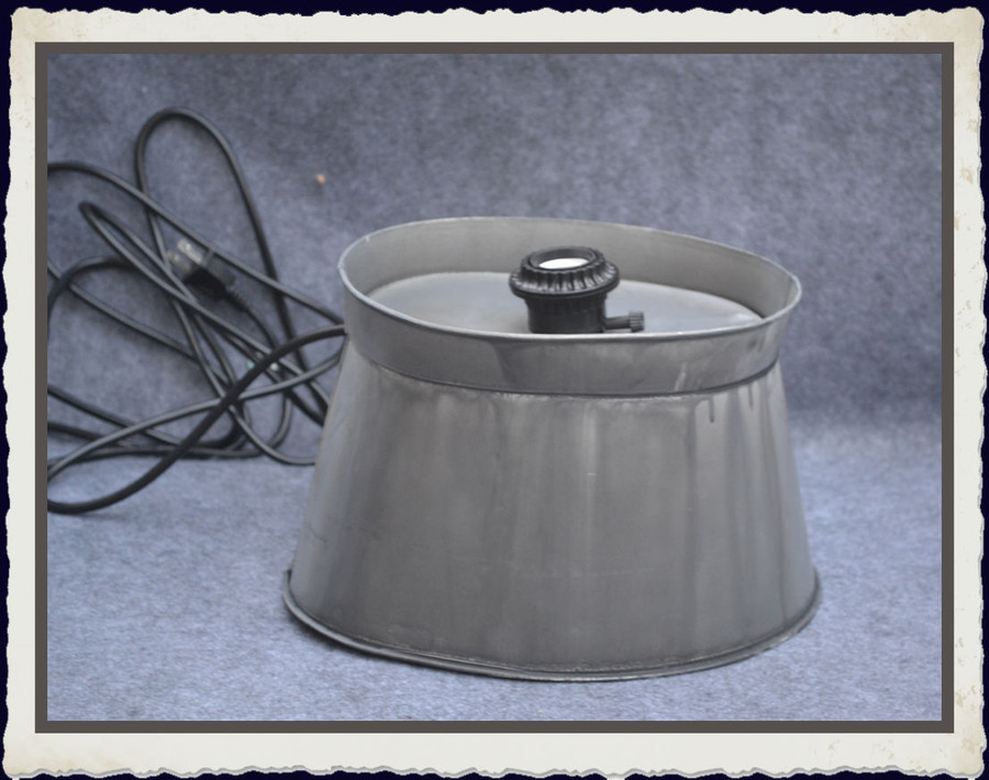 """Metal -  Lamp Base  with Cord and Socket  10' x 7"""" x 5.5"""" (TLA74389)"""
