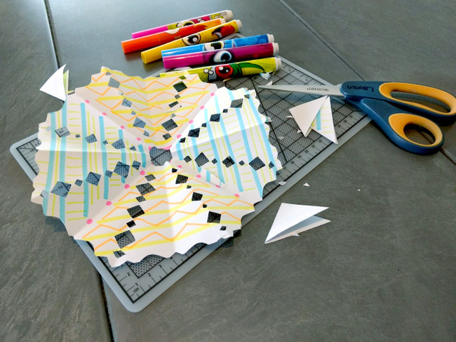 Paper Snowflake Craft