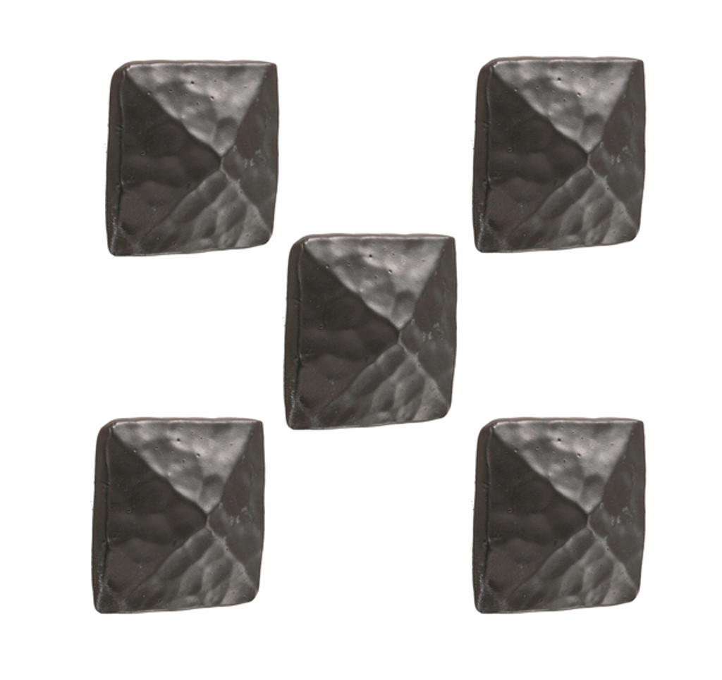 Forest Hill Iron Drawer Knob- 5 Piece Set
