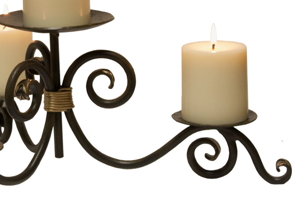 Stratford Iron Candle Holder
