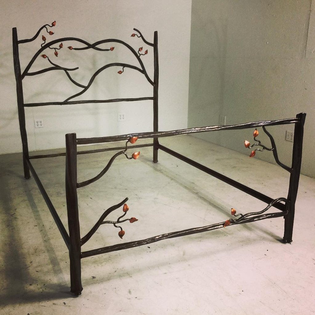 Custom Enchanted Forest Bed