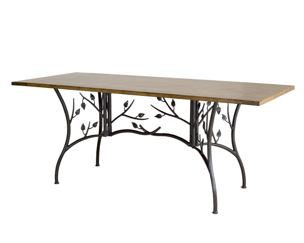 Iron folding table rustic folding table stone county ironworks leaf folding table watchthetrailerfo