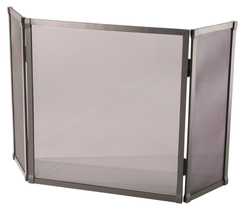 Iron Fire screen Full Faced Triple Panel