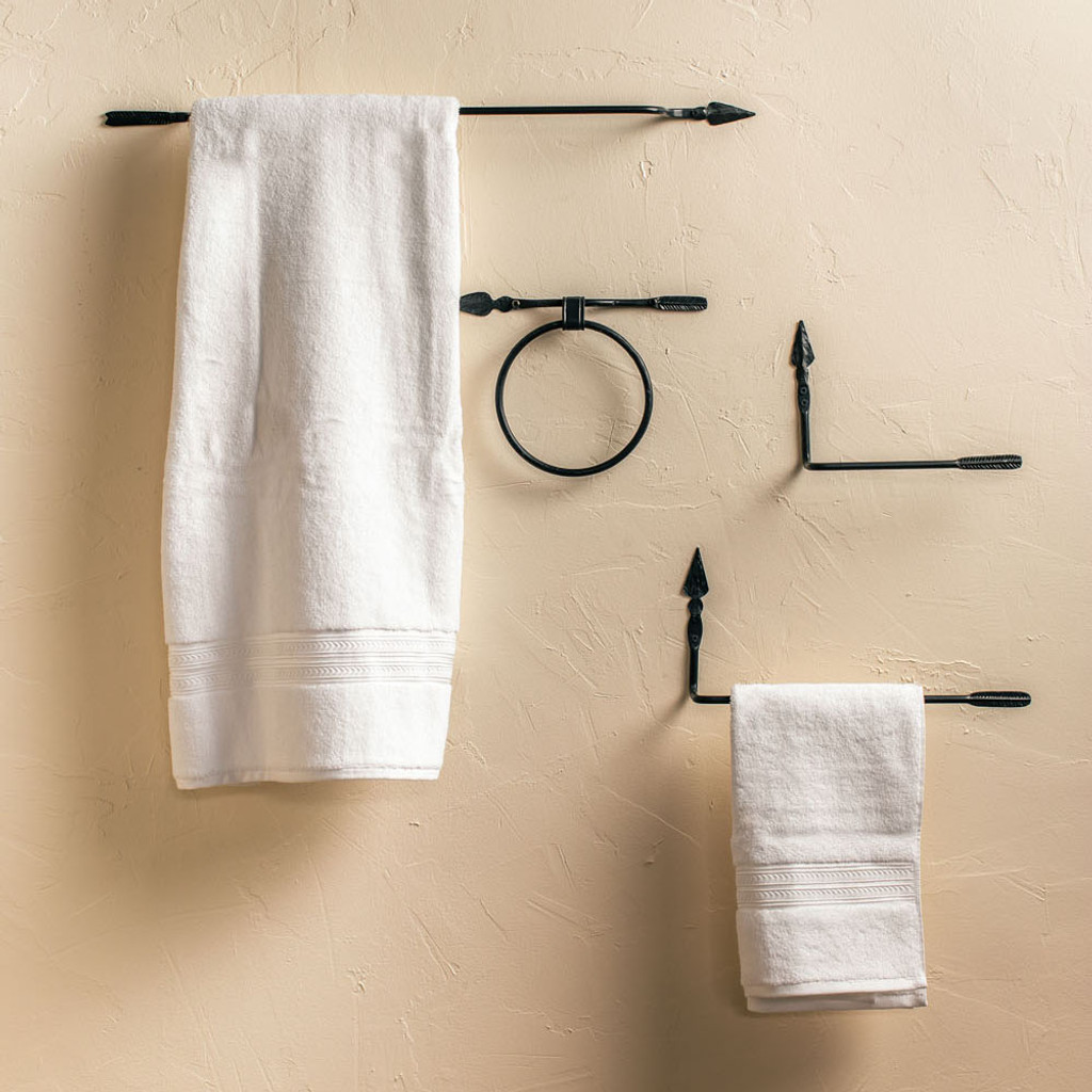 Quapaw Iron Tissue Holder