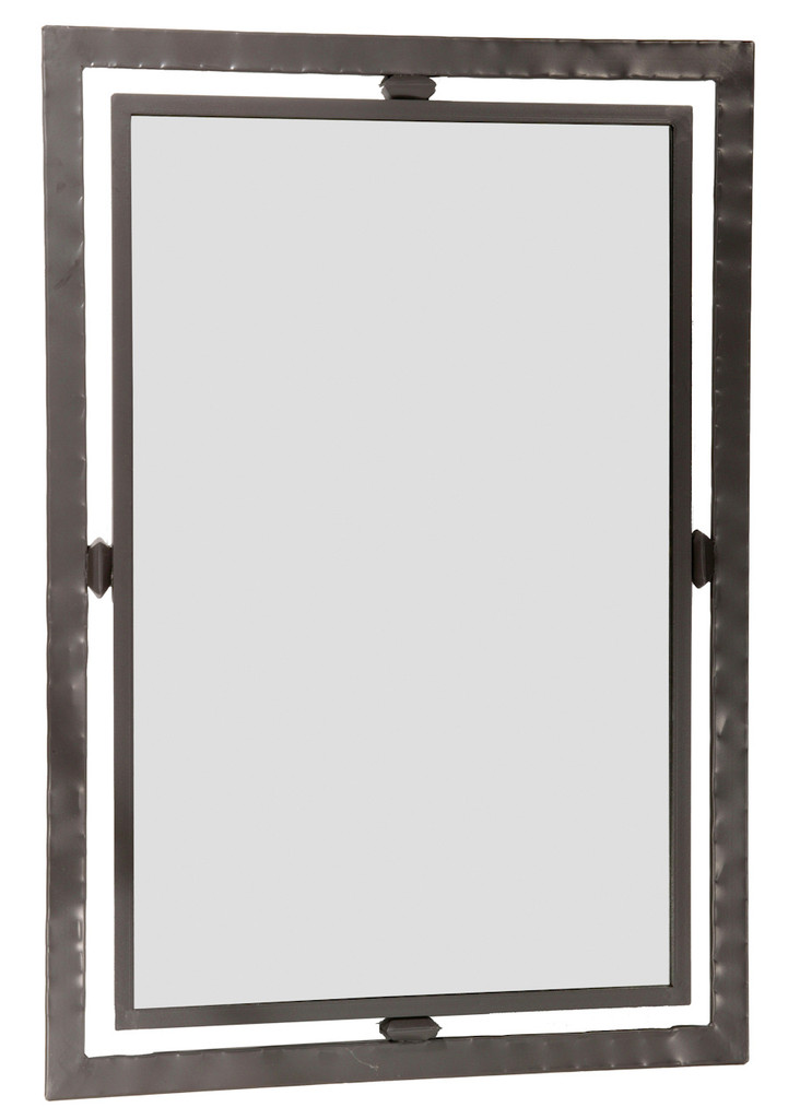 Forest Hill Iron Wall Mirror
