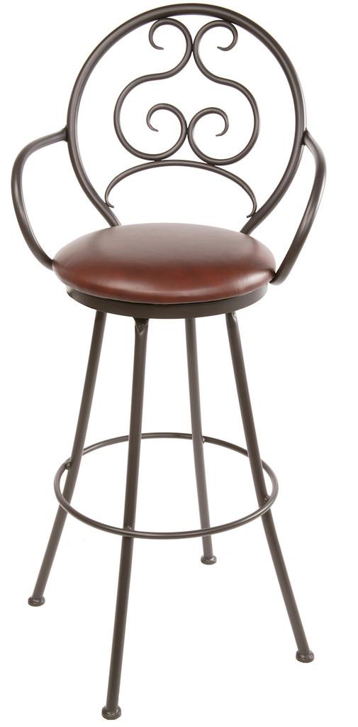 Ranfurlie Iron Bar Stool
