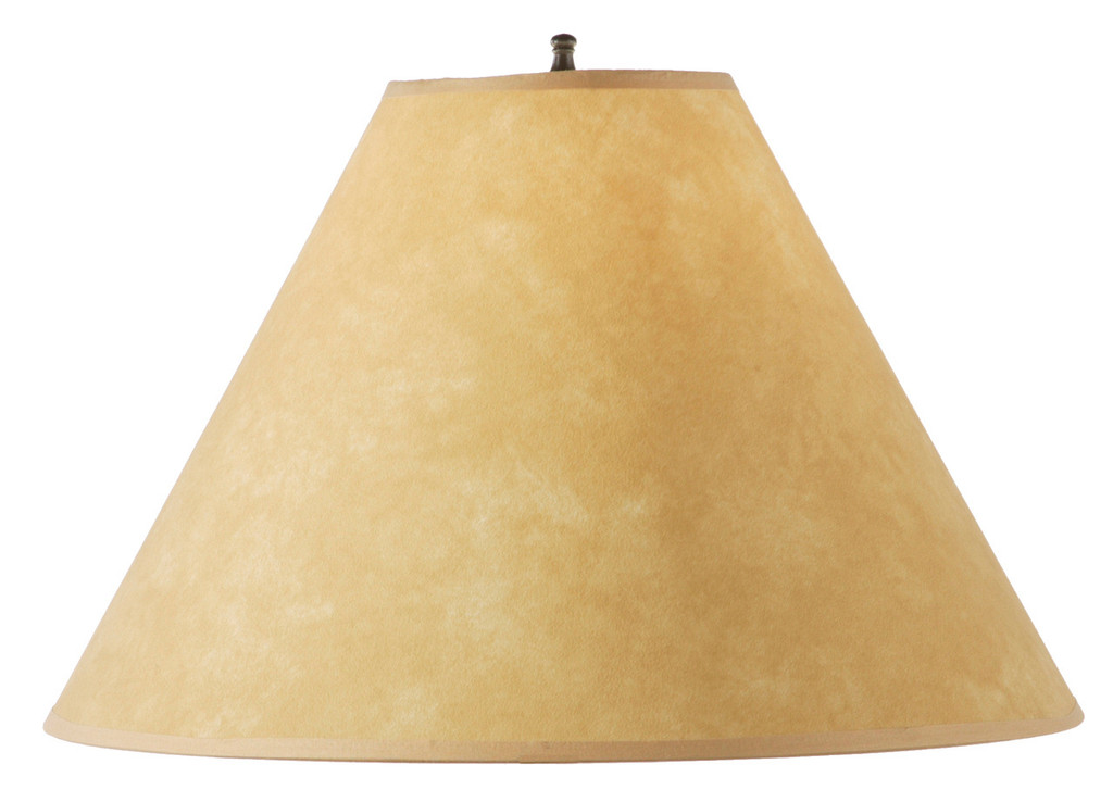 Parchment hand forged iron table lamp shade 18 inch parchment table lamp shade 18 inch aloadofball Gallery