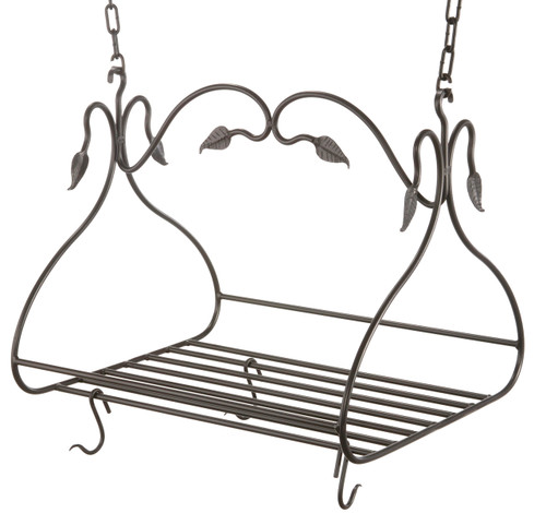 Gourmet Iron Pot Rack Large