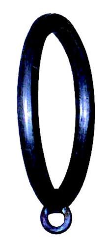 Iron Curtain Ring 1 1/2 inch w/1/4 inch Tab